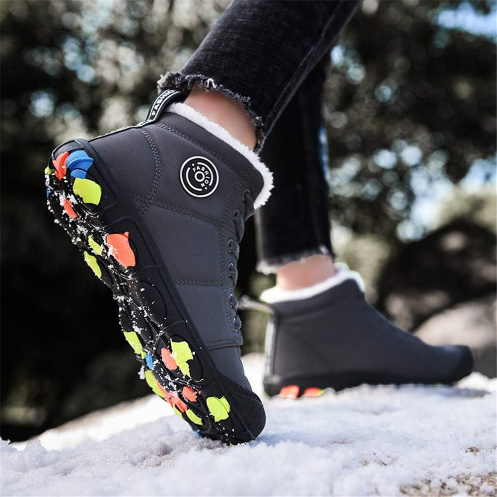 Veluckin Bottes de Neige pour Enfants Chaussures Gar/çon Fille Hiver Coton Chaussures des Chaussures dhiver