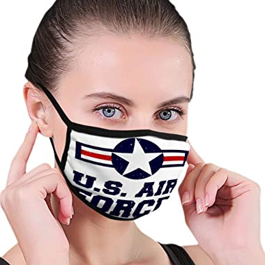 Xunulyn Popular Mouth Shield for Kitchen Jogging t Shirt Print Design u s air Force Vintage Tshirt Stamp Printing Badge Applique Label Shirts Jeans Casual wear Sports Shield