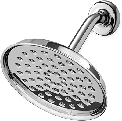 Polished Nickel Total Global Domination of the Whole World Toto TS200A51#PN Transitional Collection Series A Single-Spray 4-1//2-Inch Showerhead