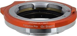 Fotodiox DLX Series Stretch Adapter w/Back Focus and Macro Focus Ability, Leica M Lens to Sony E-Mount Mirrorless Camera - for Sony Alpha E-Mount Cameras APS-C & Full Frame i.e. NEX-7, a5100, a7R II