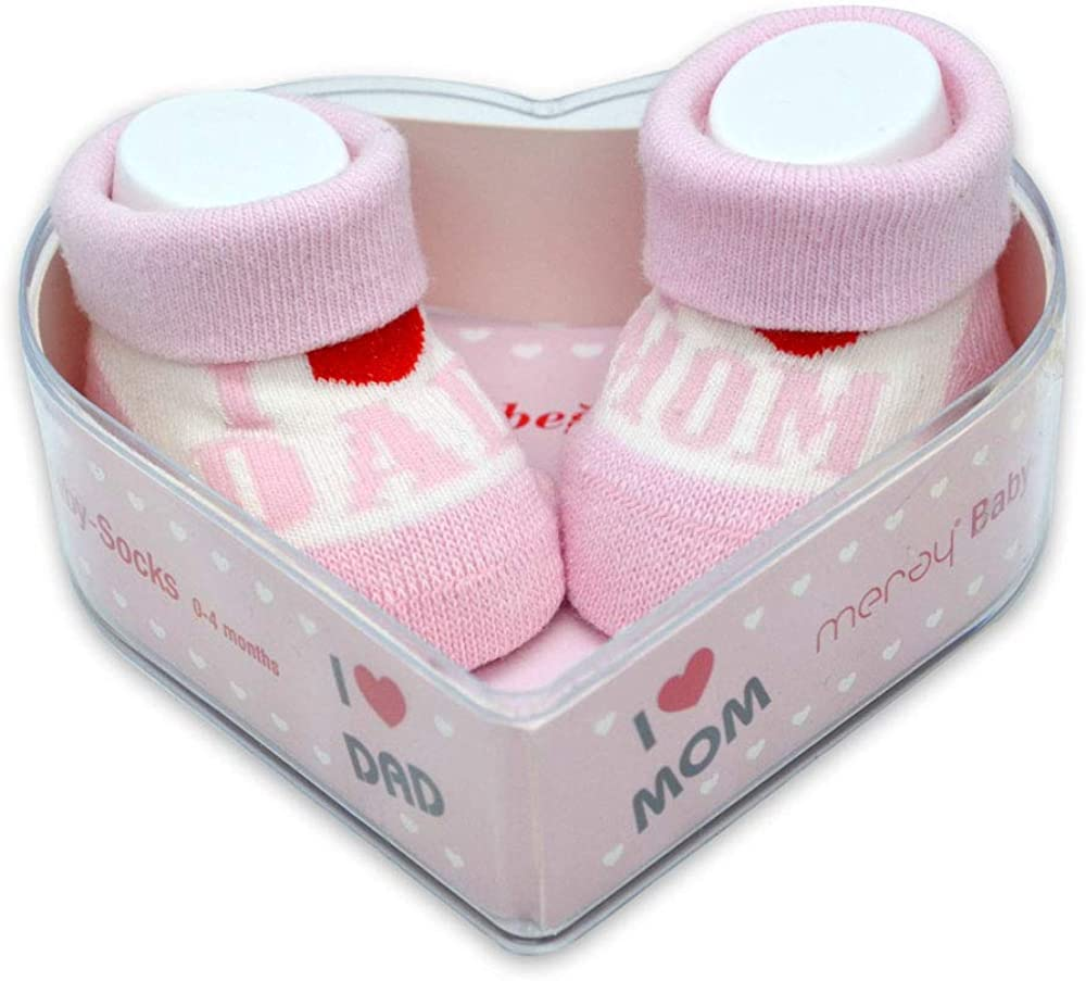 Newborn Cute Baby Socks 0-3 Months Perfect New Baby Gift Set for Babyshowers