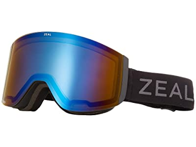 Zeal Optics Hatchet (Dark Night w/ Polarized Bluebird HT + Persimmon Sky Blue Lens) Snow Goggles