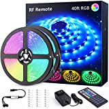 Novostella 40ft RGB LED Strip Light kit, Flexible Color Changing 360 Units SMD...
