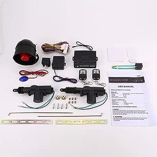 New Universal Car Alarm Remote Control Security System 2 Door Central Door Lock Locking Kit Set Keyless Entry System