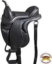 HILASON Western Treeless Horse Saddle Endurance Trail Pleasure Leather