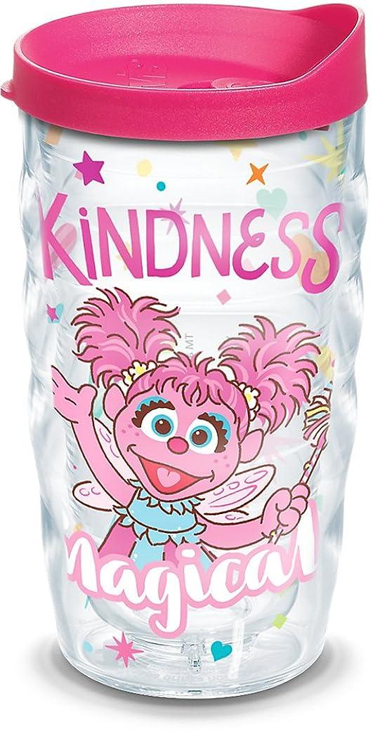 食物人に関する限り書誌Tervis 1300746 Sesame Street-Abby Cadabby Kindness Is 魔法の断熱タンブラー ラップと蓋付き 10オンス 透明