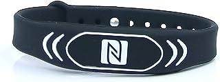 NFC pulsera con espacio de almacenamiento para Contacto
