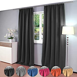 Gräfenstayn® Alana - cortina térmica opaca de un solo