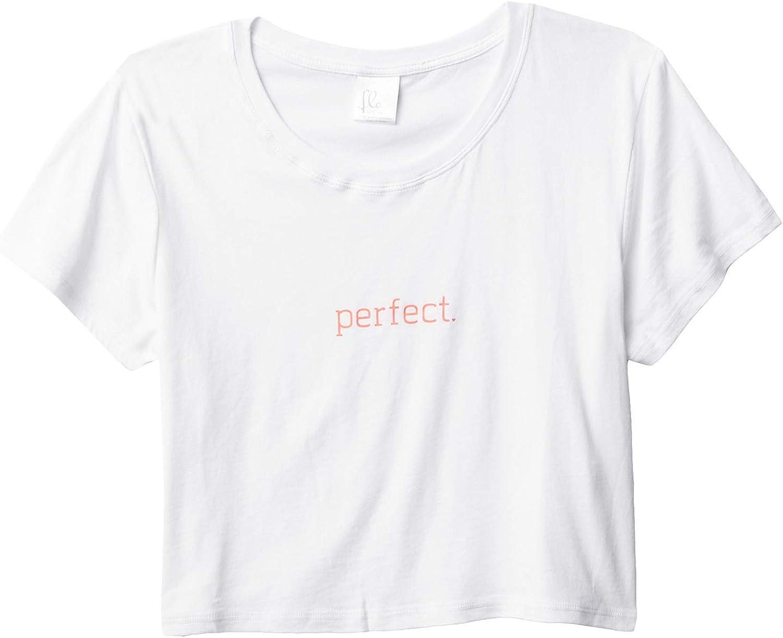 Flo Active Girl's Perfect Crop Tee (Little Kids/Big Kids)