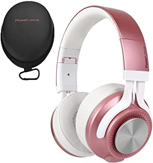 PowerLocus P3 Bluetooth Over-Ear Kopfhörer, [40std Spielzeit] Kopfhörer Kabellos mit HD Stereo,Faltbar Wireless Kopfhörer mit Mikrofon zum Freisprechen Kabellose & Kabel für iPhone/Android/Windows/TV