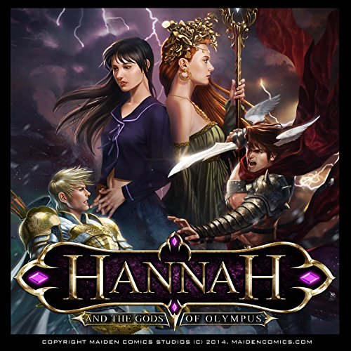 Hannah and the Gods of Olympus audiobook cover art