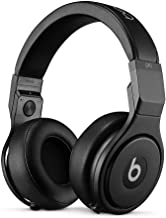 Beats by Dr Dre Pro Headphones - High Performance Professional Over-Ear Headphones, Infinite Black, Matt Finish (Renewed)