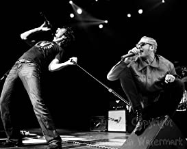 Layne Staley and Chris Cornell Live On Stage 8x10 B&W Photo