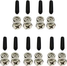 MagiDeal 5x springtouw verstelbare schroeven met eindkapje voor het overslaan van kabel training