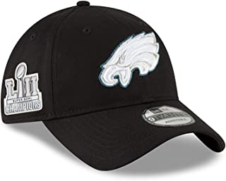(ニューエラ) NEW ERA フィラデルフィア イーグルス 【SUPER BOWL LII CHAMPIONS 2018 9TWENTY ADJUSTABLE/BLK】 PHILADELPHIA EAGLES [並行輸入品]