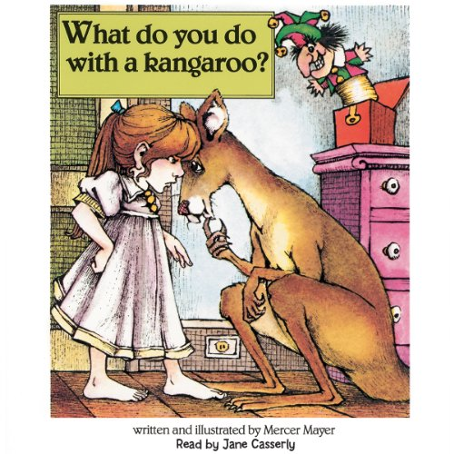 What Do You Do with a Kangaroo?  audiobook cover art