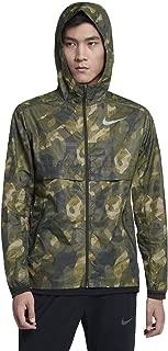 Shield Ghost Flash Men's Running Jacket Sequoia Green Size XL