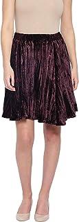 oxolloxo Women's Skirt (Maroon)