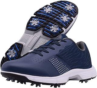 Zakey Professional Waterproof Golf Shoes Men Spikes Golf Sneakers Male Outdoor Anti Slip Walking Footwears
