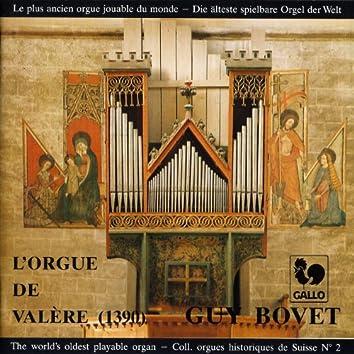 Guy Bovet à l'orgue de la Basilique de Valère (1390), The world's oldest playable organ