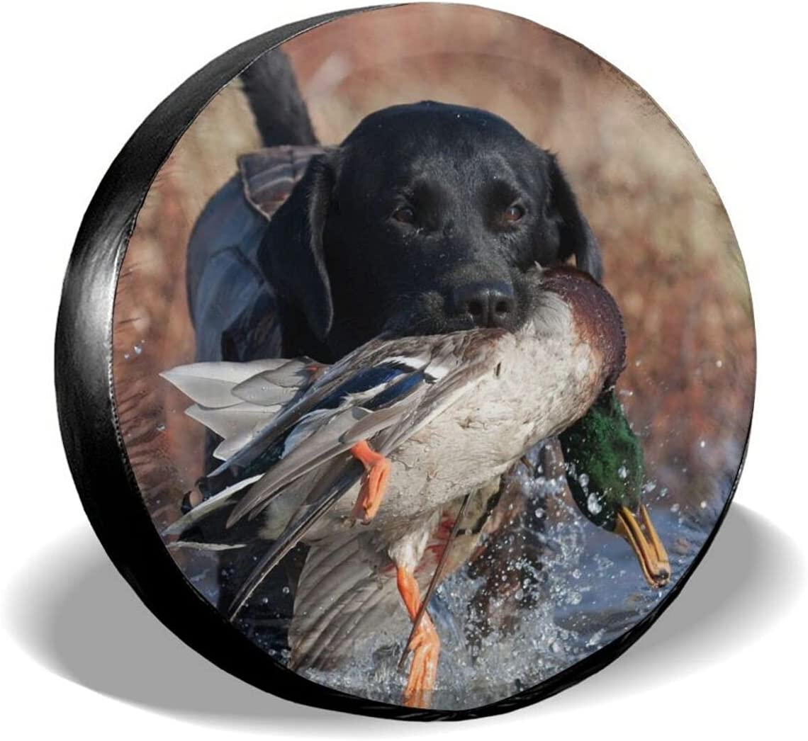 Duck Limited time cheap sale Hunting Labrador Dog Cool Black Whe Puppy Max 53% OFF Spare Animal Tire