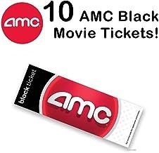 AMC Black Movie Ticket (set of 10 )