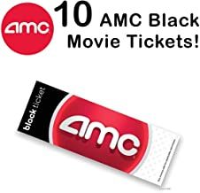 AMC Black Movie Ticket (set of 10 )