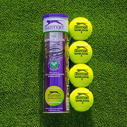 Net World Sports Slazenger Wimbledon Pelotas de tenis | Wimbledon Championship |...
