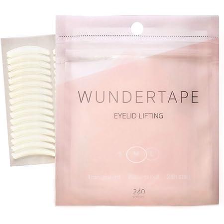 Schlupflider Stripes WUNDERTAPE® (144 Stück | Größe M) Schlupflid-Tape Streifen zum Augenlid-Lifting ohne OP! (wasserfest, 24h Halt, double eyelid lifting tapes) Augenlid-Tape