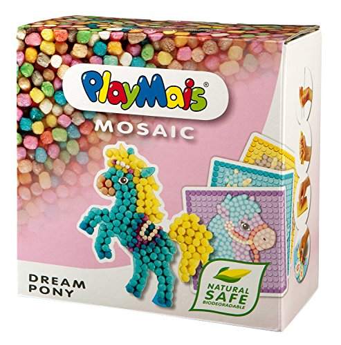 Play Mais - Mosaic Dream Pony, 2300 Piezas, Juego de Manualidades (Loick Biowertstoff GmbH 22AH160179)