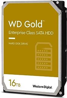 "Western Digital 16TB WD Gold Enterprise Class Internal Hard Drive - 7200 RPM Class, SATA 6 Gb/s, 512 MB Cache, 3.5"" - WD16..."