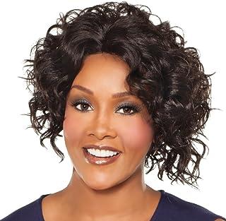 Vivica A. Fox MEGAN-V New Futura Fiber, Natural Baby Hair Lace Front Wig in Color P273033