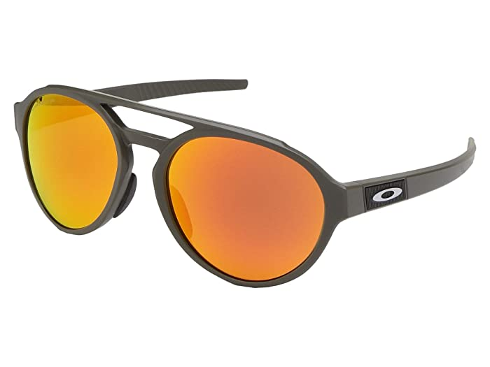 Oakley Forager (Matte Olive w/ PRIZM Ruby Polarized) Fashion Sunglasses