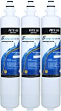EXCELPURE RPWF Refrigerator Water Filter Compatible With GE RPWF (Not RPWFE), RWF1063, RWF3600A, WSG-4 (3)