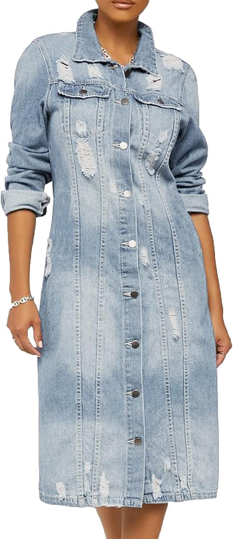 USYFAKGH Women Vintage Button Down Distressed Denim Short Recommendation Jean J Attention brand