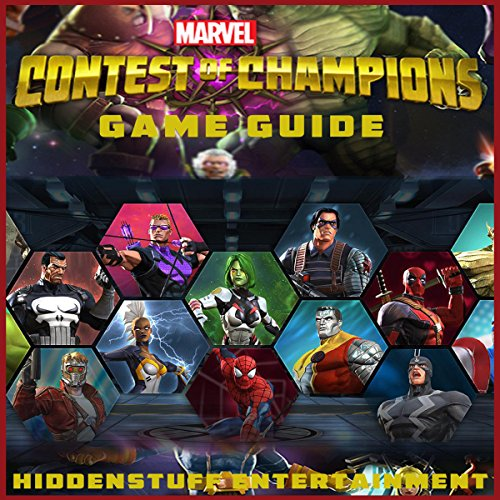 Marvel Contest of Champions Game Guide audiobook cover art