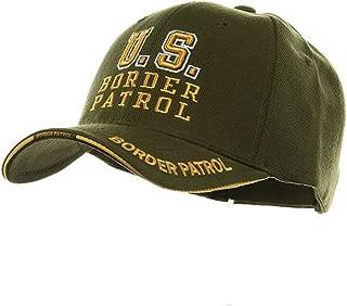 Law And Order Cap-U.S. BORDER PATROL- Olive W35S55E