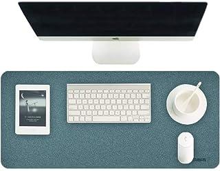 Hagibis Desk Pad, grand protecteur de buvard de bureau en liège naturel, matériau de surface superfine tapis d'écriture do...