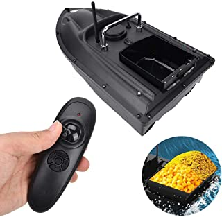 Alomejor Barco de Cebo de Pesca RC Fish Lure Boat 500m Wireless Bait Casting Yacht Fish Finder Boat 1.5 KGS Lure Load