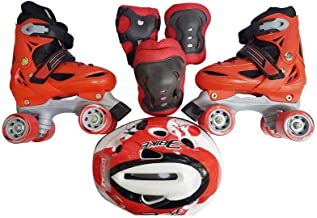 Spall Skating Set Shoes Pad and Helmet