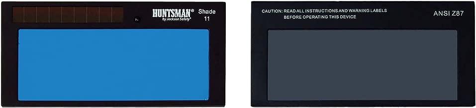 "Jackson Safety Solera Fixed Shade 11 ADF Cartridge (16376), 2"" x 4"", Solar Powered Welding Helmet, 1 / Order"