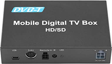 جعبه تلویزیون دیجیتال اتومبیل ، کینسو DVB-T HD / SD موبایل تلویزیون دیجیتال اتومبیل جعبه تلویزیون آنالوگ تیونر تلویزیون آنالوگ با سرعت بالا 240km / ساعت گیرنده سیگنال قوی