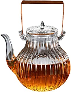 Teapots Glass Tea Set Thick Heat-resistant Teapot Elegant Cup Office Tea Ceremony Cup Comes With Filter Household Teapot 750ml Tea pot