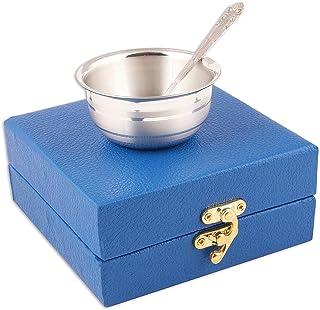 Msa Jewels Silver Bowl & Spoon Set - Silver