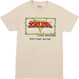 Legend of Zelda Original Start Menu Adult T-Shirt