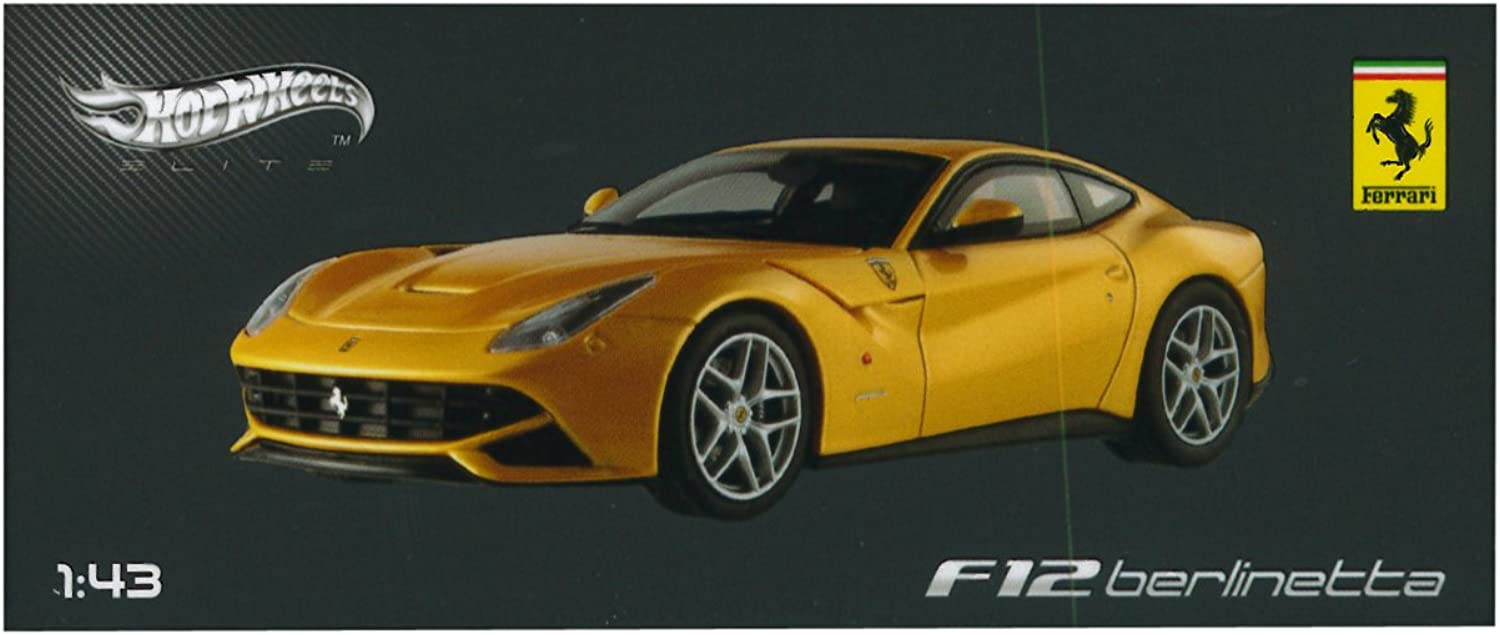 Ferrari F12berlinetta Diecast Model Car