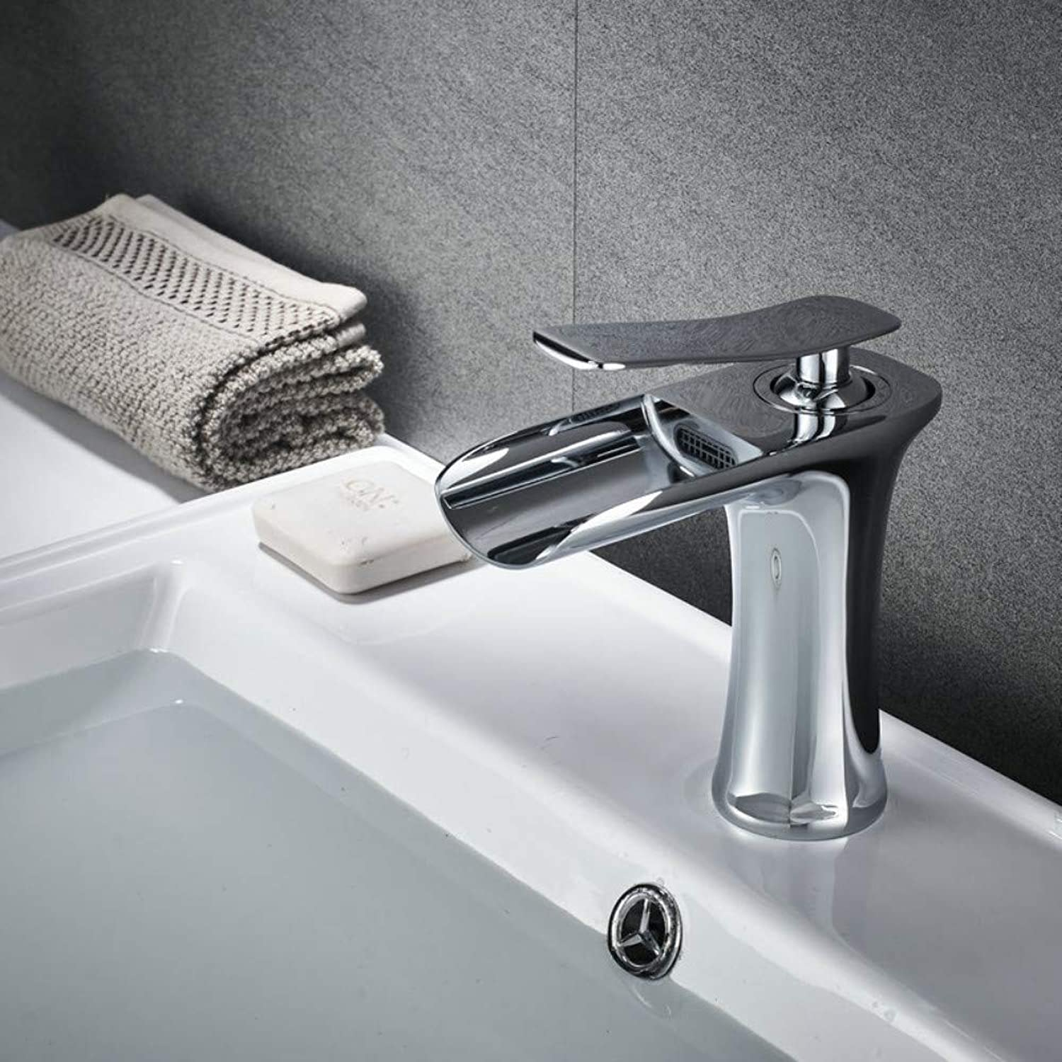 Bathroom Taps Waterfall Basin Faucet Hot and Cold Bathroom Above Counter Basin? Bathroom Sink Tap Basin Sink Mixer Tap