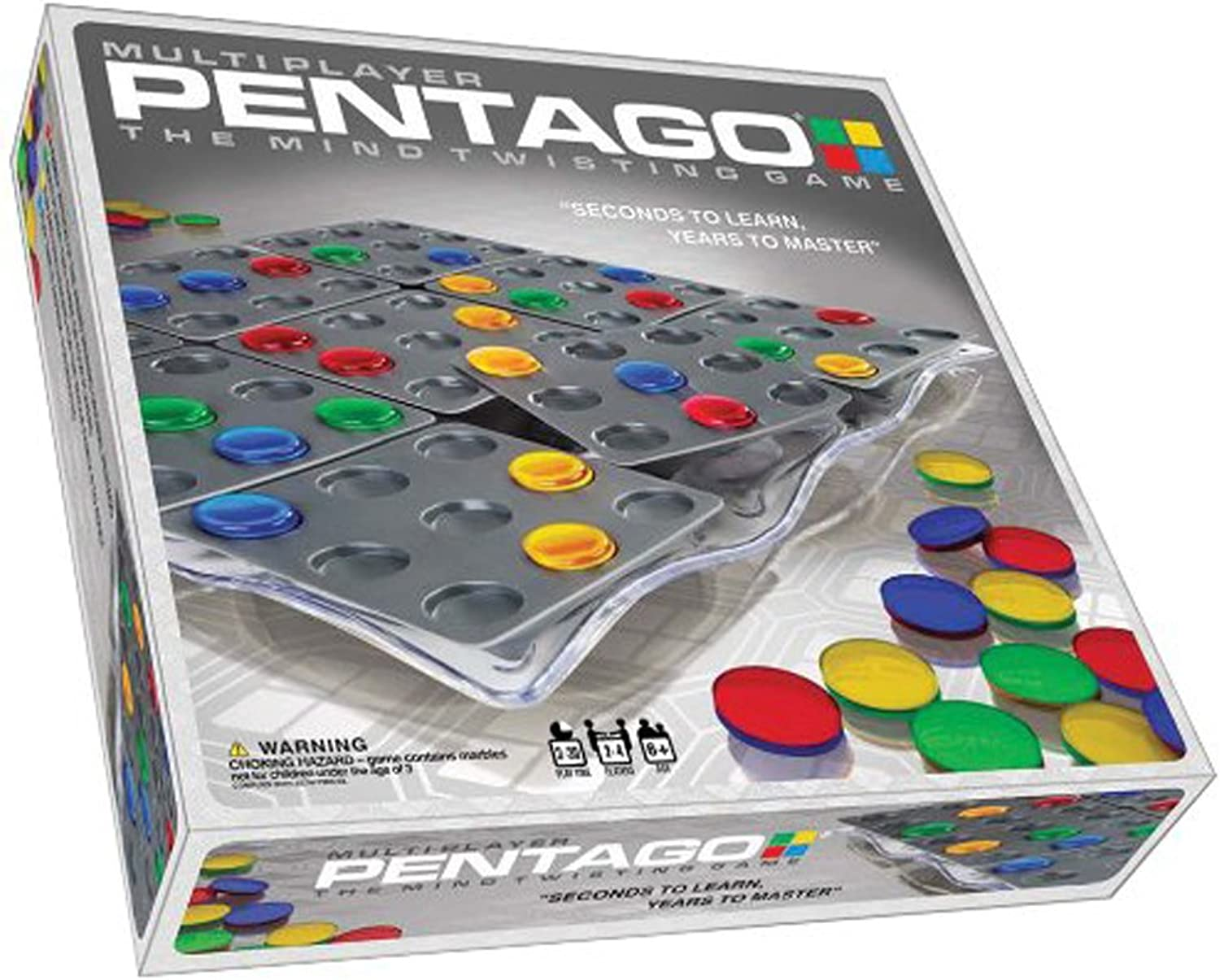 Mindtwister USA Pentago Multi Player Strategy Game
