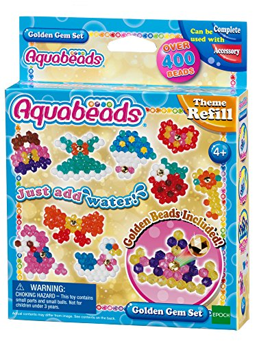 Aquabeads - 31048 - Set de Joyas Doradas
