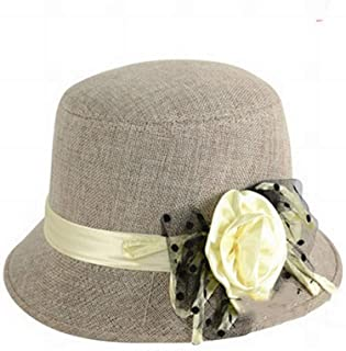 Ladies Vintage Dome Hat Fashion Autumn and Winter Warm Top Hat Basin Cap